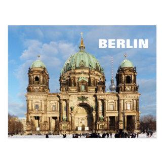 Cartão Postal Catedral nevado 2.2.T de Berlim