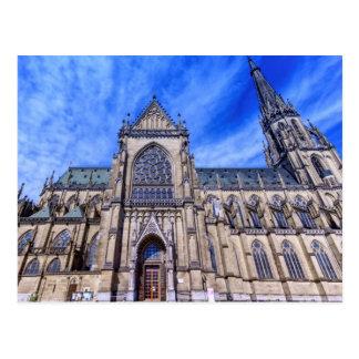 Cartão Postal Catedral nova, Linz, Áustria
