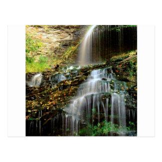 Cartão Postal Catedral West Virginia da cachoeira
