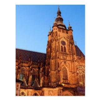 Cartão Postal Cathedral dentro Praga