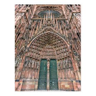 Cartão Postal Cathedrale Notre-Dame, Strasbourg, France