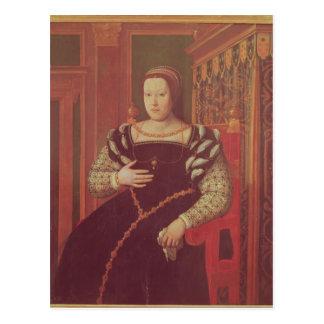 Cartão Postal Catherine de Medici, 1585-86
