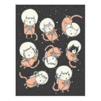 Cartão Postal Catstronauts