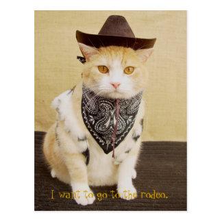 Cartão Postal Cavaleiro Bubba da fuga
