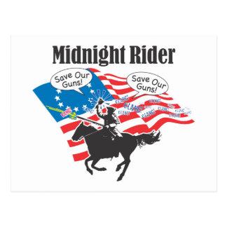 Cartão Postal Cavaleiro da meia-noite