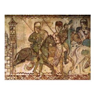 Cartão Postal Cavaleiro de templo