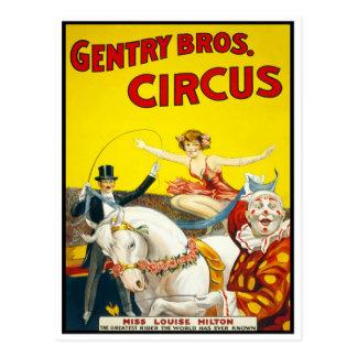 Cartão Postal Cavaleiro de truque do circo, 1920