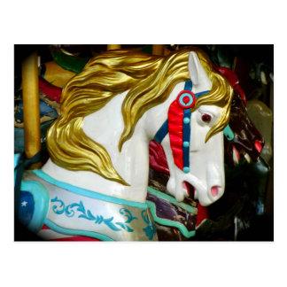 Cartão Postal Cavalo do carrossel
