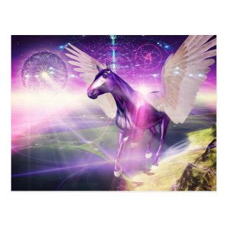 Cartão Postal Cavalo místico