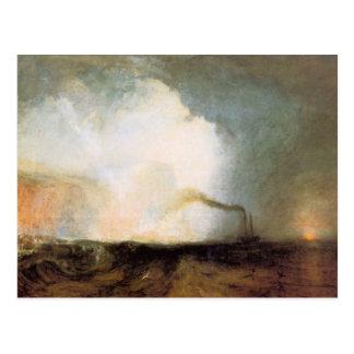 Cartão Postal Caverna de Joseph Mallord Turner - de Fingals