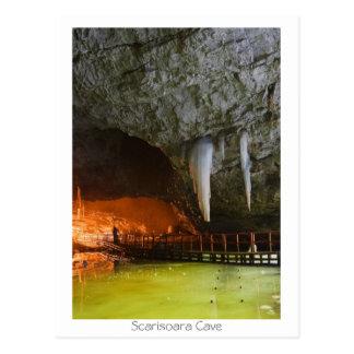Cartão Postal Caverna de Scarisoara