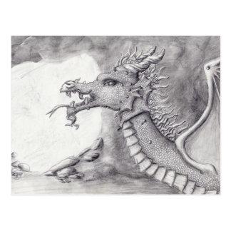 Cartão Postal Caverna do dragão
