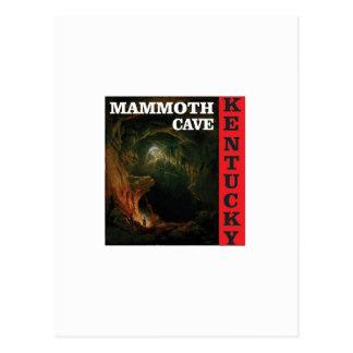 Cartão Postal Caverna do mammoth de Kentucky