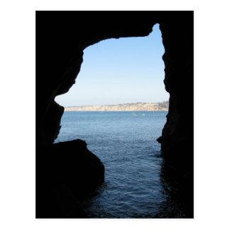 Cartão Postal Caverna do mar de La Jolla