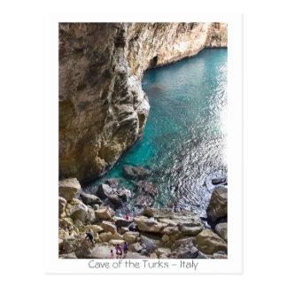 Cartão Postal Caverna dos turcos - Italia