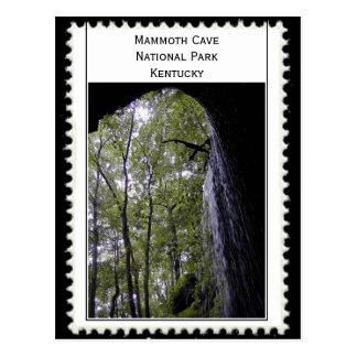 Cartão Postal Caverna gigantesca Kentucky