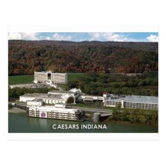 Cartão Postal Caverna gigantesca KY & Caesars Palace DENTRO