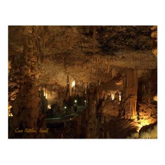 Cartão Postal Caverna Netifim, Israel