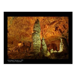 Cartão Postal Cavernas de Carlsbad