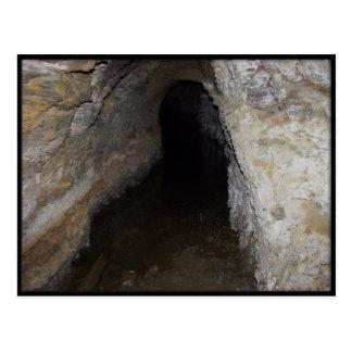Cartão Postal Cavernas de exploração