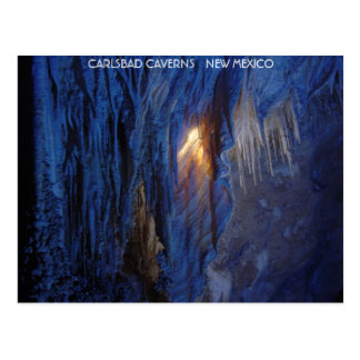 Cartão Postal Cavernas New mexico de Carlsbad