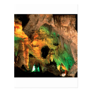 Cartão Postal Cavernas New mexico de Carlsbad do parque