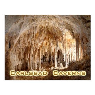 Cartão Postal Cavernas parque nacional de Carlsbad, New mexico