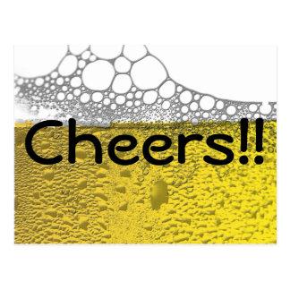 Cartão Postal Celebração da cerveja