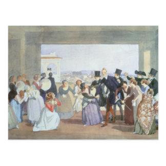 Cartão Postal Celebração de outubro em Roma, 1842