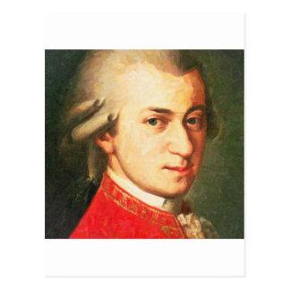 Cartão Postal celebridades Wolfgang Amadeus Mozart 2