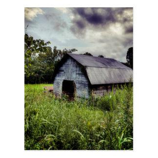 Cartão Postal Celeiro americano - North Carolina rural