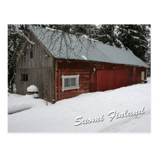 Cartão Postal Celeiro do inverno