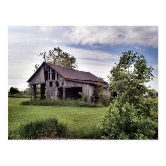 Cartão Postal celeiros do país de ohio