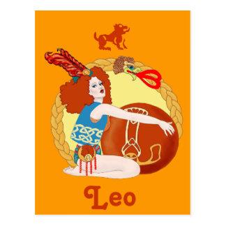 Cartão Postal Céltico Leo
