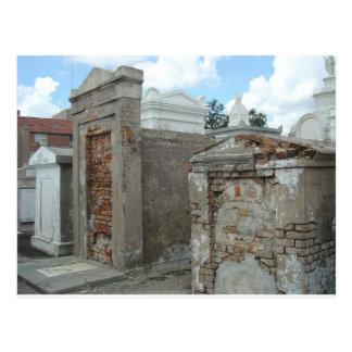 Cartão Postal Cemitério #1 de St Louis - Nova Orleães