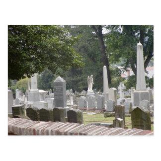Cartão Postal Cemitério confederado Fredericksburg VA