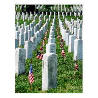Cartão Postal Cemitério de Arlington