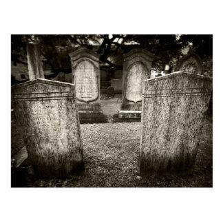 Cartão Postal Cemitério de Charleston
