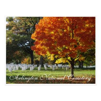 Cartão Postal Cemitério nacional de Arlington