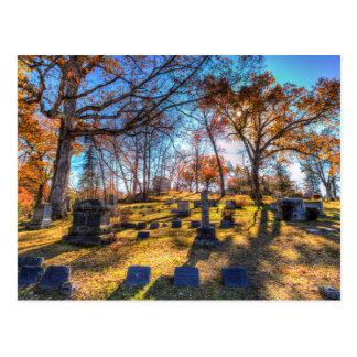 Cartão Postal Cemitério oco sonolento New York