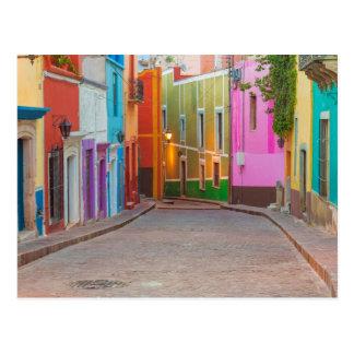 Cartão Postal Cena colorida da rua
