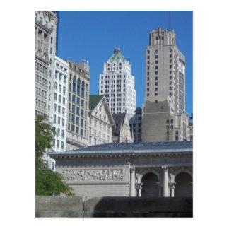 Cartão Postal Cena da cidade de Chicago