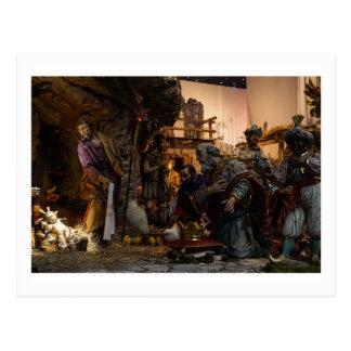 Cartão Postal Cena da natividade no vaticano