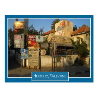 Cartão Postal Cena da rua em Jericho, Palestina