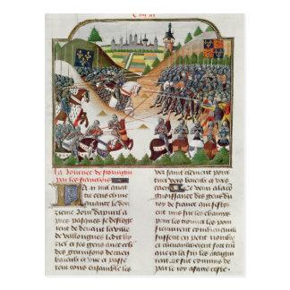 Cartão Postal Cena de batalha f.183 do franco 2691, por Jehan