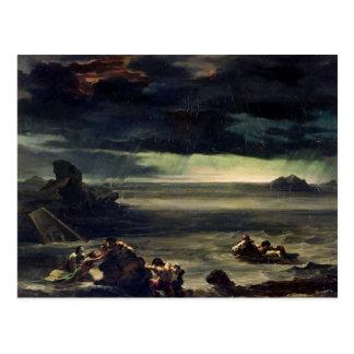 Cartão Postal Cena do dilúvio, 1818-20