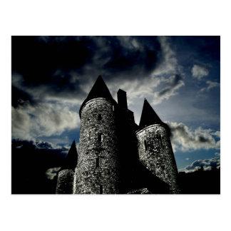 Cartão Postal Cena gótico do castelo