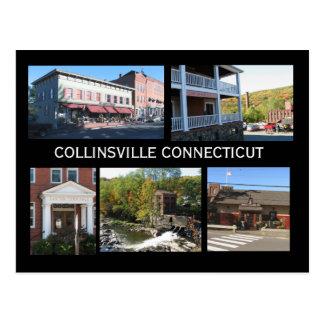 Cartão Postal Cenas de Collinsville Connecticut
