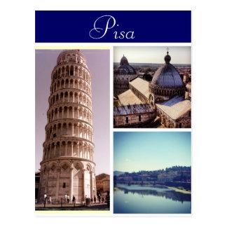 Cartão Postal Cenas de Pisa