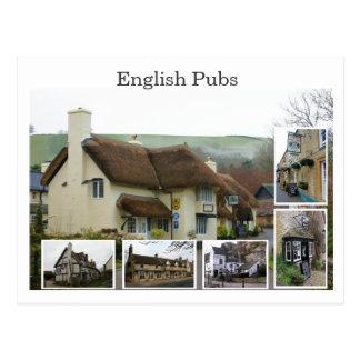 Cartão Postal Cenas inglesas do bar - personalizadas -